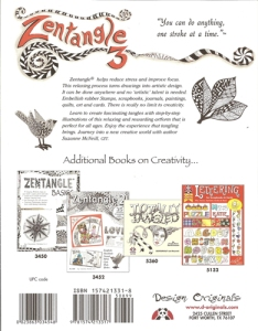 Zentangle 3 - back cover